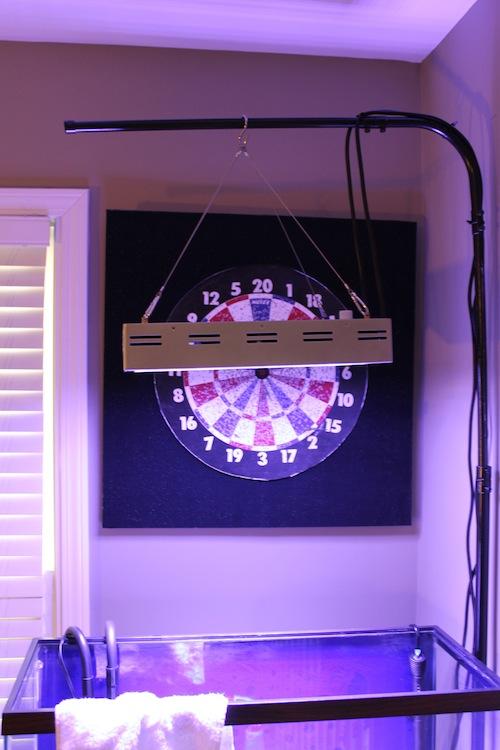 Diy Tank Light Hanger